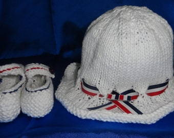 Hat and Mary Jane's for your little one to show off their patriotic pride.
