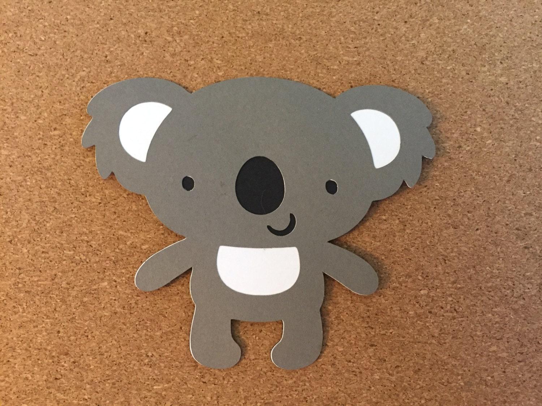 4 koala muera cortes 4 papel tintas cortes Koalas | Etsy