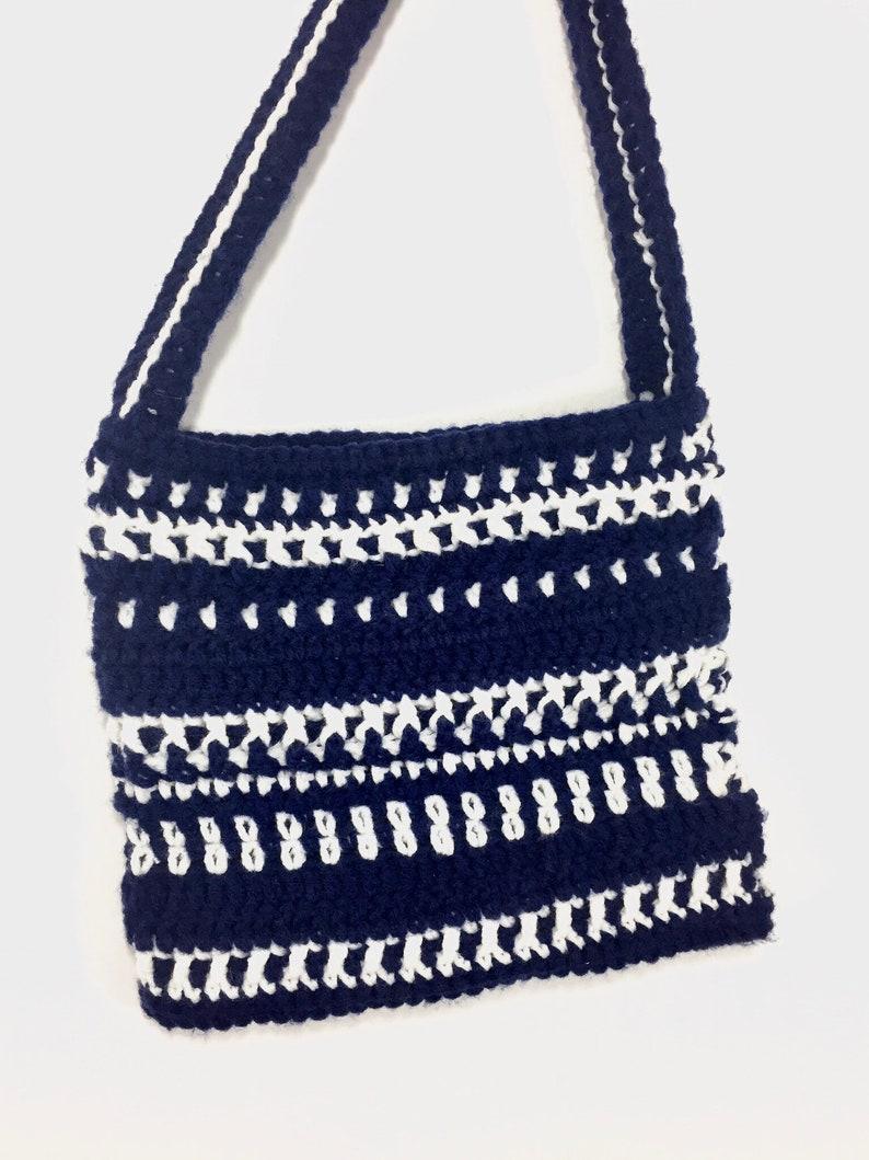 Cross Body Bag Crochet Pattern Etsy