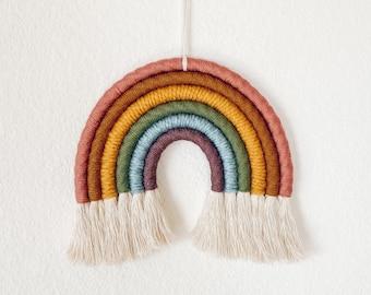 Rainbow Wall Hanging - Vintage Rainbow Colors