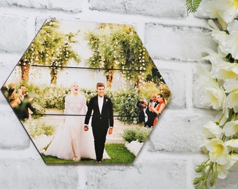 Your Picture Printed on Wood, Real Wooden Photo Pallet, Custom Photo Print, Rustic Wood Portrait many sizes to choose from.