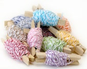 10m Cotton Bakers Twine for Gift Wrap, Scrapbooking and Finishing Touches
