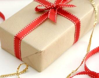 Scrapbooking Recycle Alphabet Kraft Wrap Olde English Wrapping Paper KWSPS137 Gift Wrap
