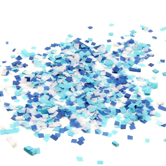 PAPER CONFETTI PASTEL BLUE 15G BIRTHDAY PARTY SUPPLIES