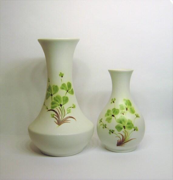 Vintage Edward Radford English Pottery Vases 2 Small Ceramic Etsy