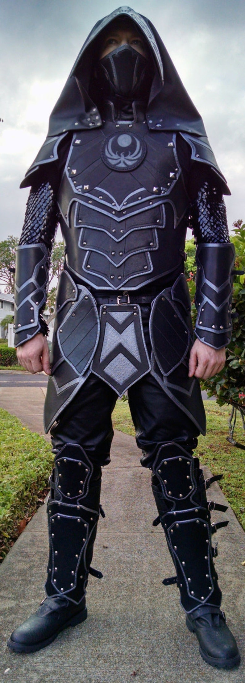 Leather Armor Deluxe Nightingale Set image 0