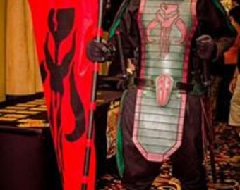 Leather Armor Samurai Boba Fett Set