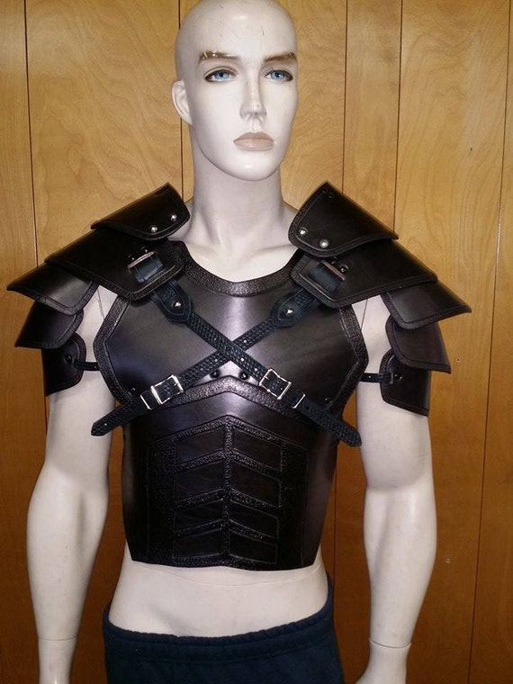 CUSTOM CRAFTED JUGGERNAUT CHEST AND BACK armor LARP COSPLAY