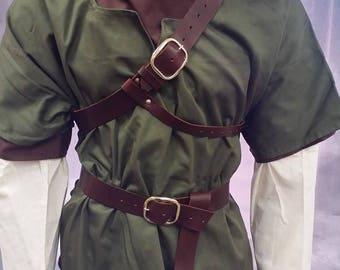 Leather Armor Twilight Princess Link belt and baldric