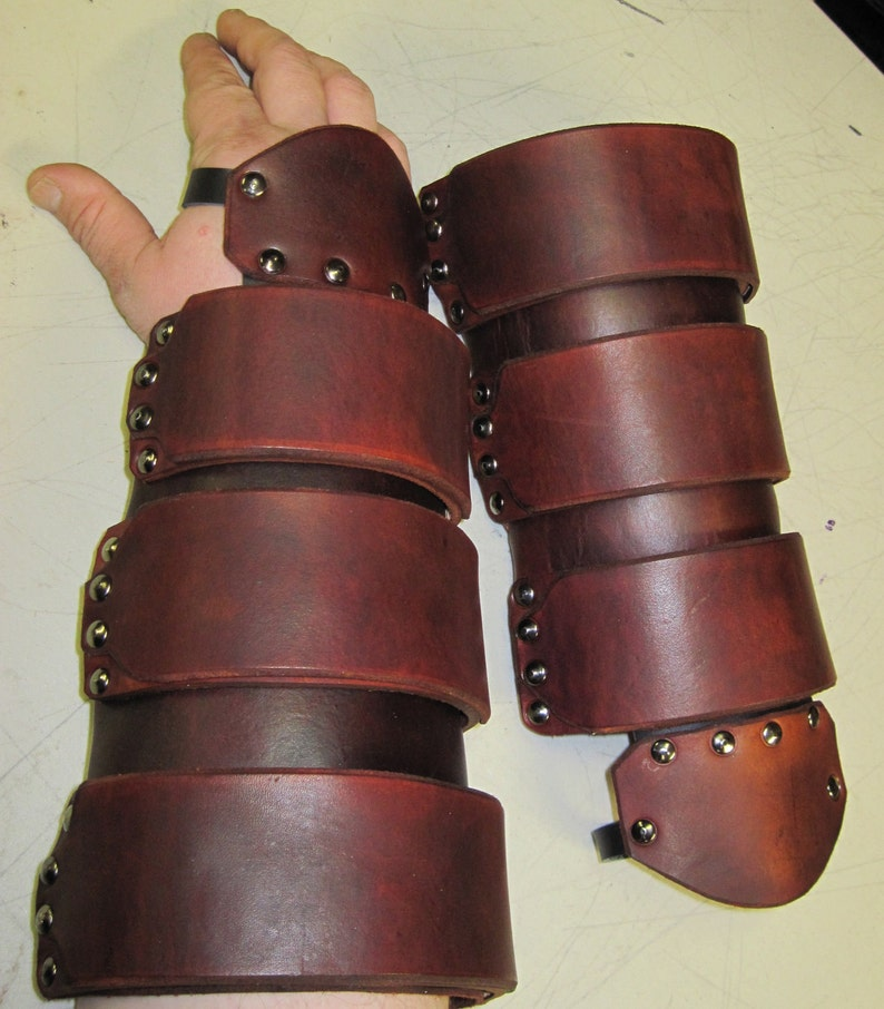 Leather Armor Link Gauntlets with Triforce