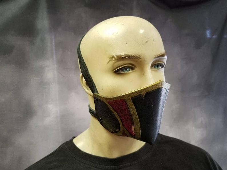 Leather Armor Nightingale Molded Mask image 0