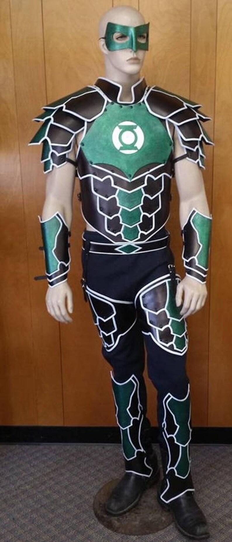 Leather Armor Green Lantern Set 2 image 0