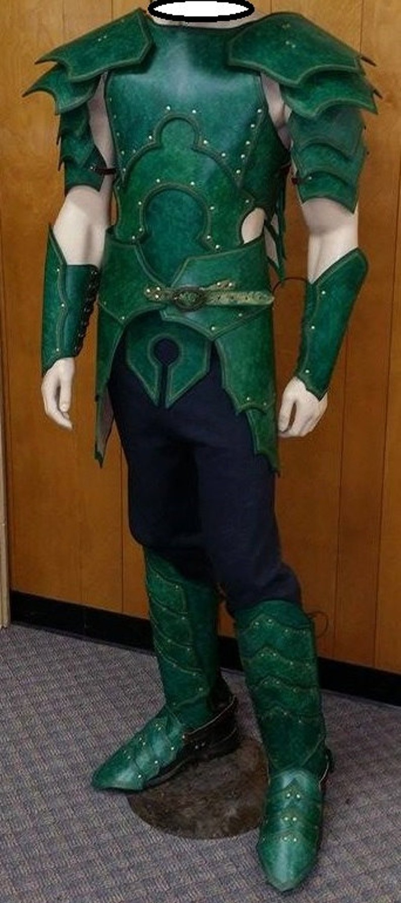 Leather Armor Elven Armor Set image 0