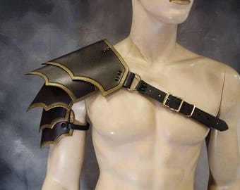 Leather Armor Sentinel 2 segmented shoulder