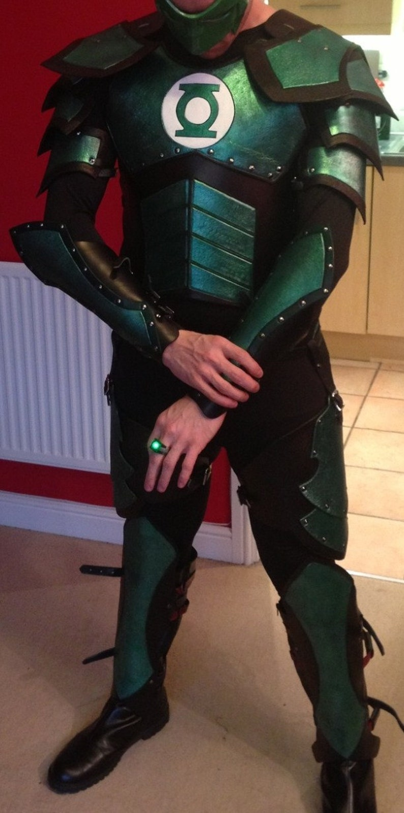Leather Armor Green Lantern Set image 0