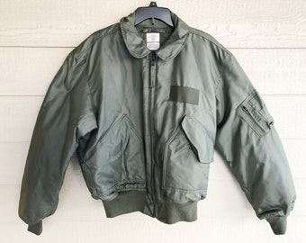 22652a69979e New US Air Force USAF Sage Green Nomex Fire Resistant Cold Weather Flyers  Men s Jacket CWU-45 P - X-Large