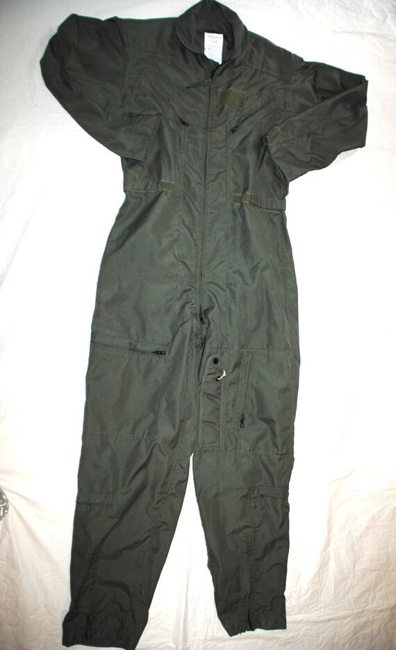 Véritable Us Air Force numéro vert Nomex vol costume Cwu-27/p - taille L 40