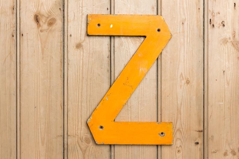 Vintage Letter Z Capital letter Z Name names home decor image 0