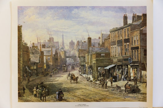 PRINT FROM AN OLD PAINTING  BY LOUISE RAYNOR CHESTER THE CROSS PICTURE