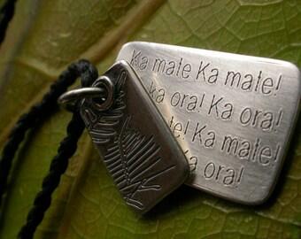 Kamate, Kamate  , All Black Haka necklace