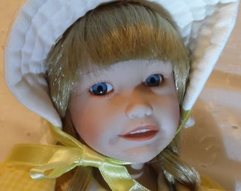 Haunted Doll~ Celine ~ Active 14 years old ~ Gets into Mischief ~ Looks Sweet but can be unpredictable