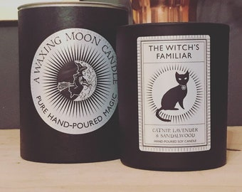 The Witch's Familiar essential oil luxury candle (large)
