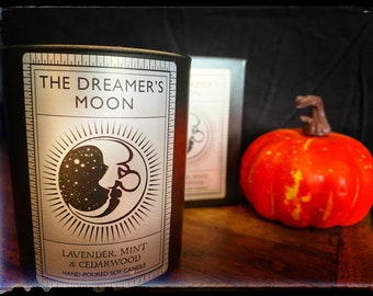 The Dreamer's Moon essential oil luxury candle