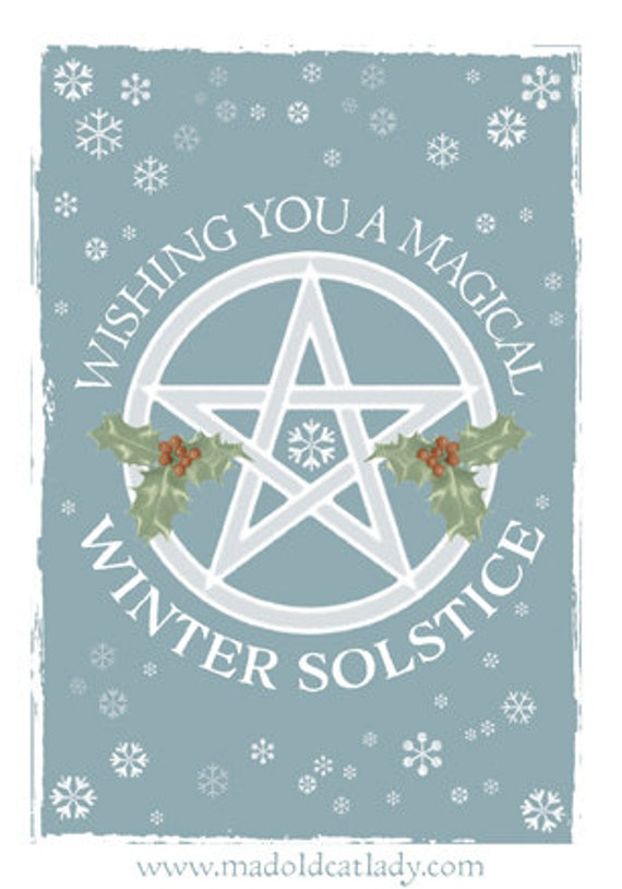 Winter solstice greetings card m4hsunfo