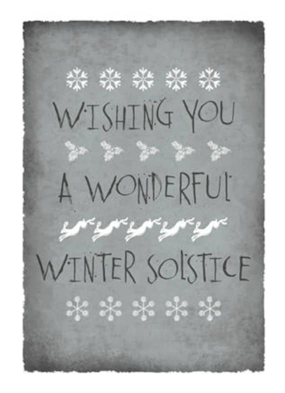 A wonderful winter solstice greetings card etsy image 0 m4hsunfo