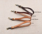 Real Leather Wristlet Strap