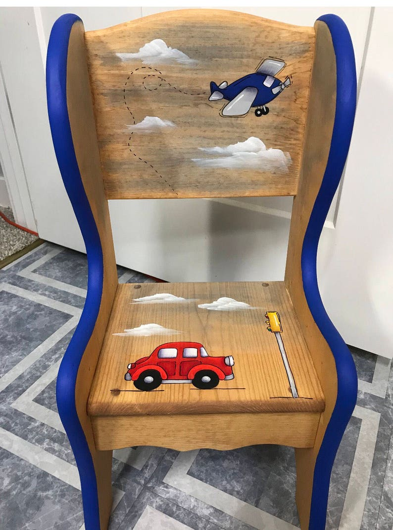 Transportation Chair Cars Chair Kids Truck Chair image 0