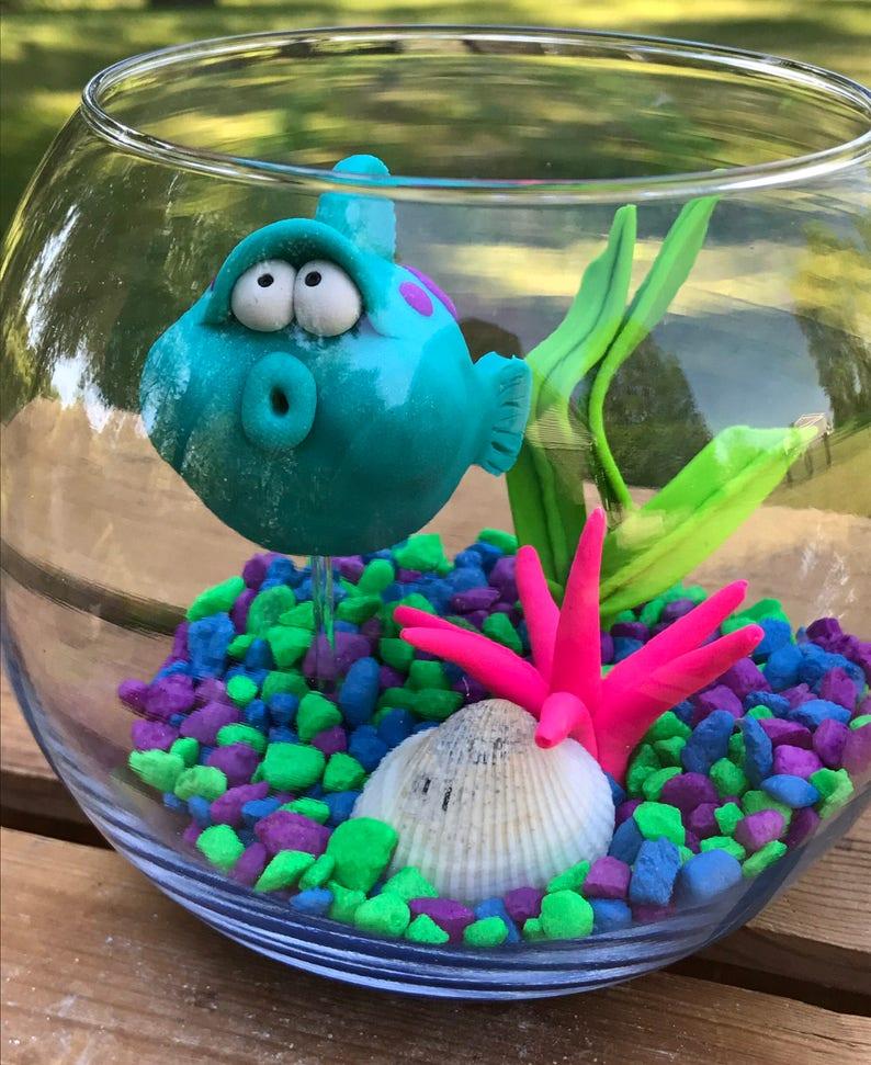 Blow Fish Fish Tank Blow Fish in Tank Aquarium Puffer image 0