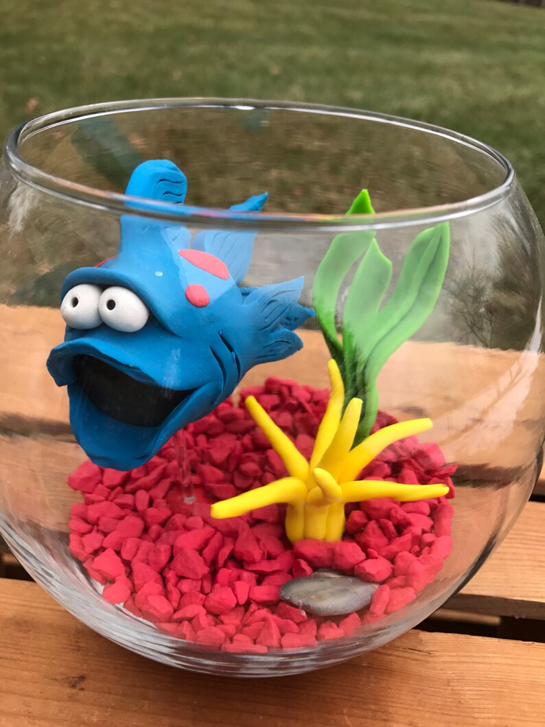 Fish Fish Bowl Fish Tank Fish in Bowl Pet Fish Large image 0