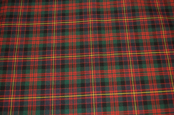 100/% pure laine Cameron d/'Erracht Moderne Tartan Tissu 13 oz environ 368.54 g
