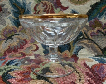 Vintage French Byrrh Aperitif Bistrot Glass / Coupe (A426)