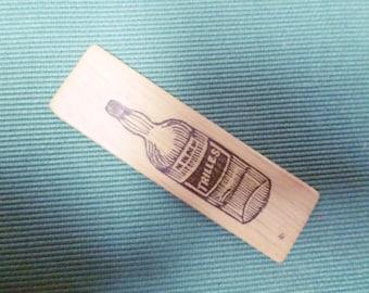 """Vintage french Bar bistrot Wooden Aperitif Token """"Trilles"""" X5 v322"""