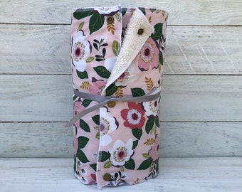 Unpaper towels, reusable paper towels, cloth paper towels, snapping paper towels - MAGNOLIA // Gift //Eco Friendly //