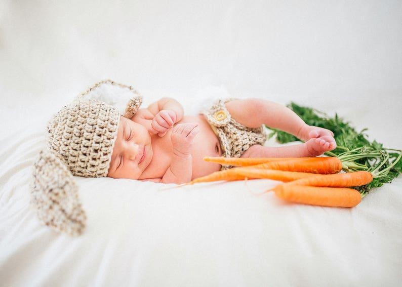 Crochet Baby cappello Pasqua coniglietto orecchie di coniglio  50f6bbcfea39