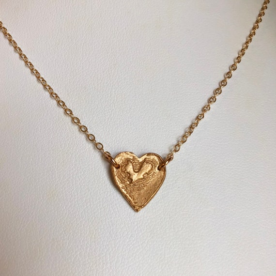 Mini Heart Medallion