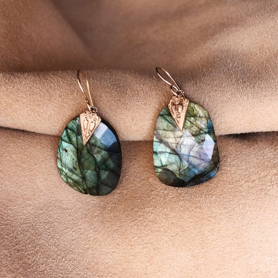 Indus Labradorite Earrings