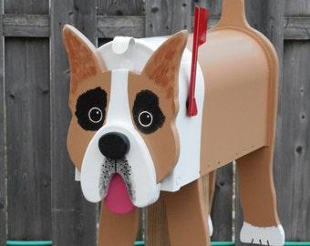 Dog mailboxes - Boxer mailbox