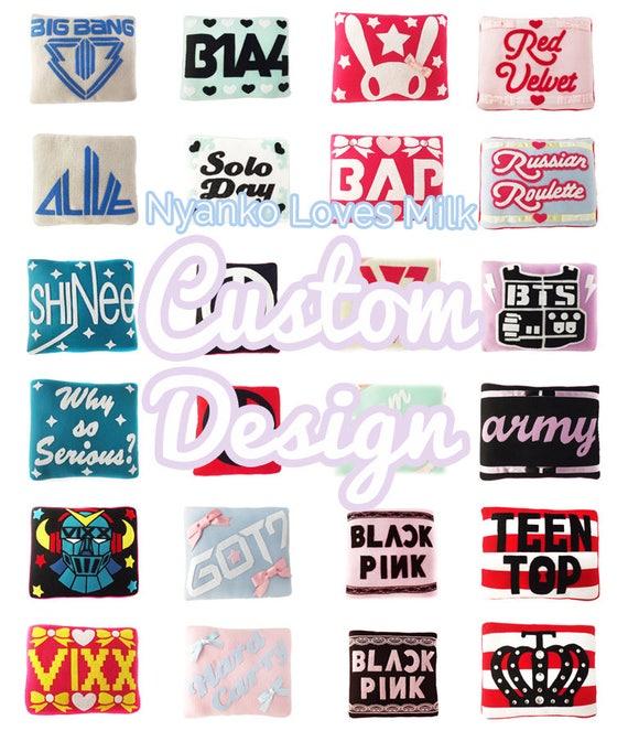 The Original Custom Design Kpop Pillow Etsy