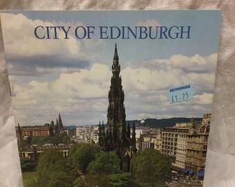 City of Edinburgh souvenir book