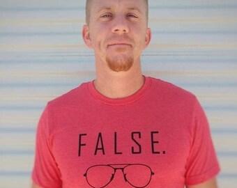 False UNISEX Shirt   The Office Shirt   Dwight Schrute   The Office Merch   The Office TV Show    Funny TV Shirt