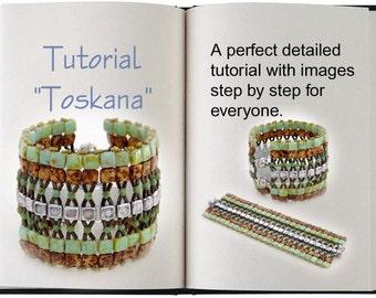 Jewelry Tutorial.... Toskana... Bracelet