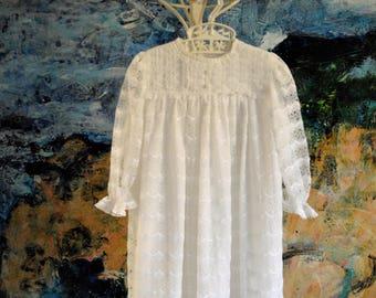 Baptism Dress, Christening Gown, Vintage Baptism Gown, Christening Dress