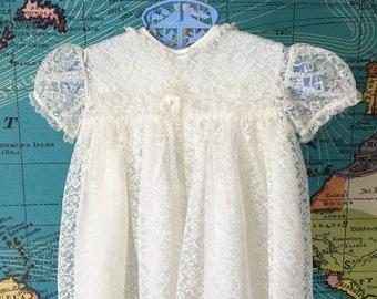 Duck dress size 3-6 open back