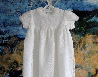 Baptism Dress, Christening Gown, Christening Dress, Baptism Gown, Vintage Christening Gown