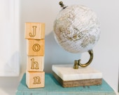 Personalized Wooden Name Blocks - Alphabet Building Blocks, perfect for play and nursery decor