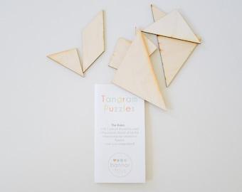 Tangrams Wooden Spatial Skills Math Puzzle Patterns